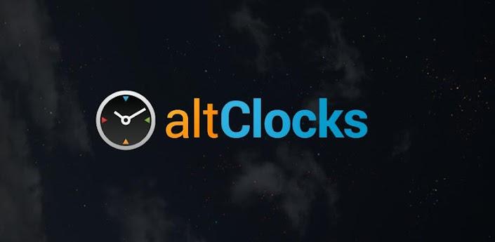 altClocks Analog Clock Widget apk