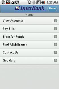InterBank - Mobile - screenshot thumbnail
