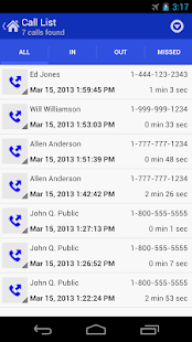 Call Log Tools- screenshot thumbnail