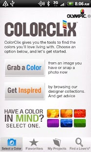 ColorClix by Olympic® Paint - screenshot thumbnail