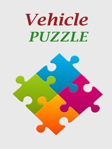 Vehicle Puzzles Game