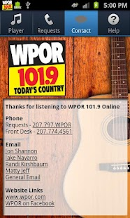 WPOR 101.9 - screenshot thumbnail