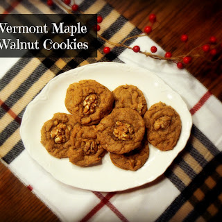 Vermont Maple Walnut Cookies