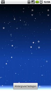 Falling Snow Live Wallpaper - screenshot thumbnail
