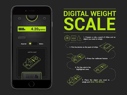 Digital Weight Scale PRO - screenshot thumbnail