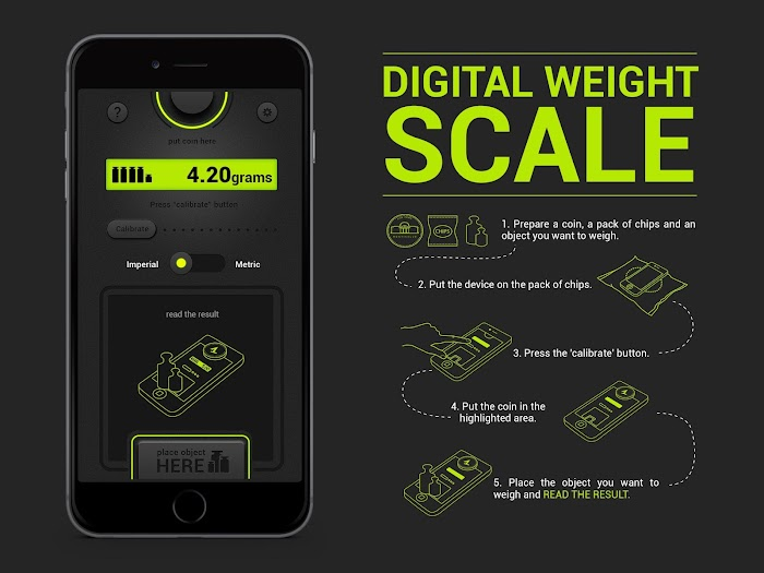 Digital Weight Scale PRO - screenshot