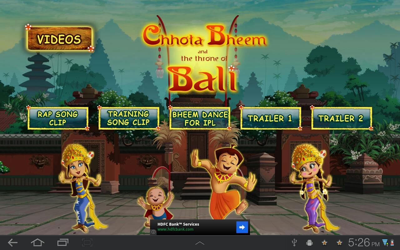Chhota Bheem Bali Movie Clips - screenshot