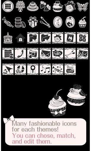 Monochrome Tea Party Wallpaper 1.1 Windows u7528 4