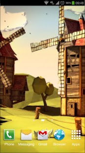 Paper Windmills 3D Pro lwp Screenshot
