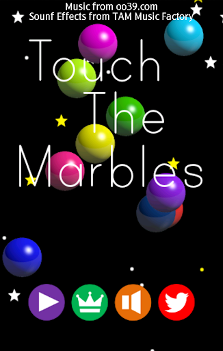 Touch The Marbles