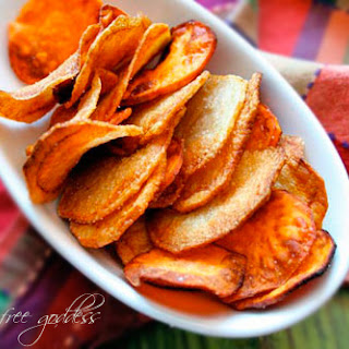 How to Make Your Own Potato Chips.