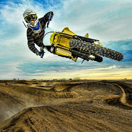 by Richard Caverly - Sports & Fitness Motorsports ( action sports, motocross, denver, motorcycle, mx, dirt bike, 733 )