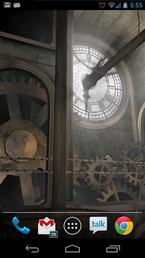 Clock Tower 3D Live Wallpaper - screenshot