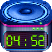 Loud Alarm Clock with Snooze