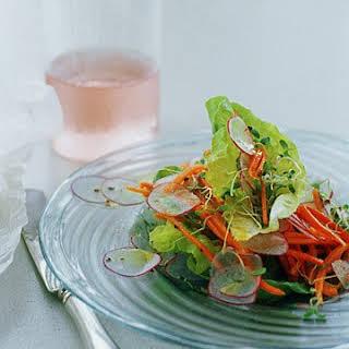 Butterhead Lettuce and Spring Vegetable Salad.