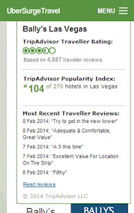 Las Vegas Hotel Casino Booking- screenshot thumbnail