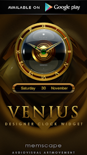 玩生活App VENIUS Digital Clock Widget免費 APP試玩