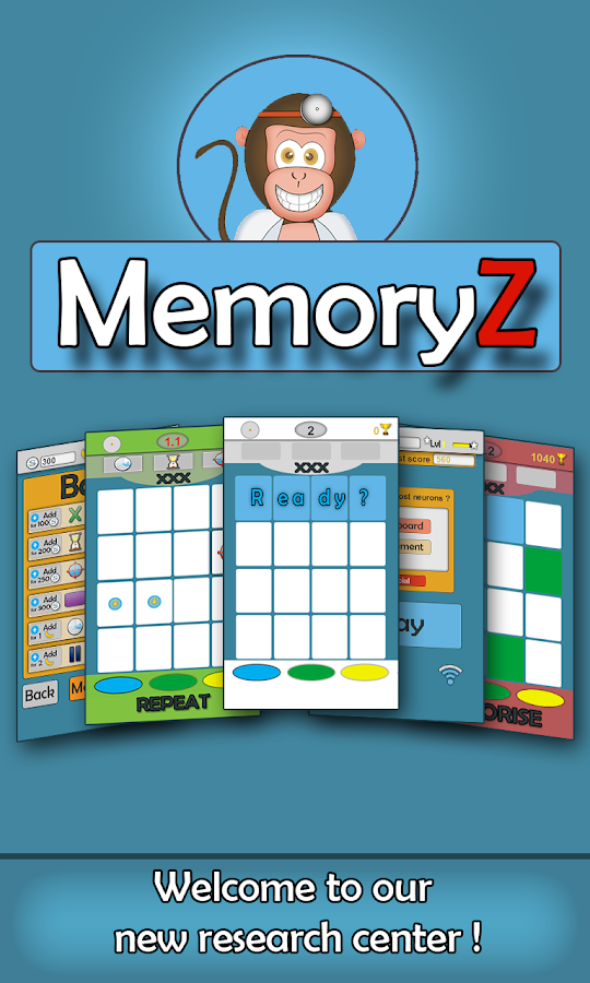 MemoryZ - screenshot