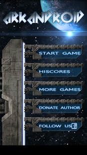 ArkAndroid game Arkanoid clone - screenshot thumbnail