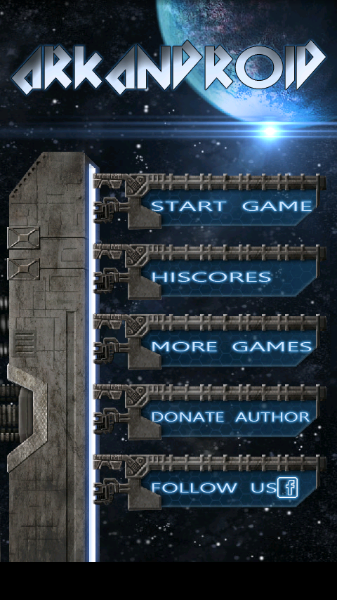 ArkAndroid game Arkanoid clone - screenshot