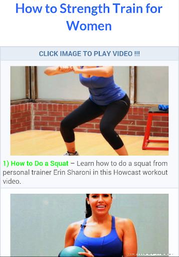 Women Bodybuilding Workouts