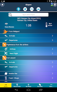 Kansas City Airport +Radar MCI screenshot 1