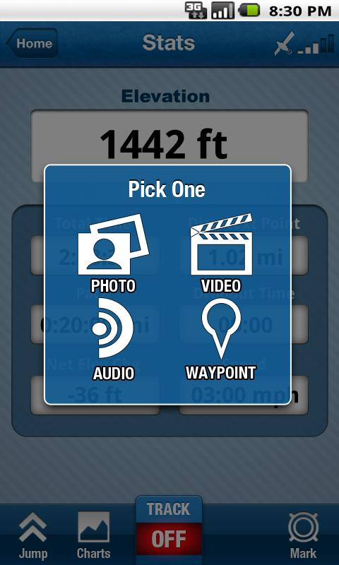 Trimble Outdoors Navigator Pro - screenshot