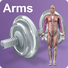 Daily Arms Video Workouts icon