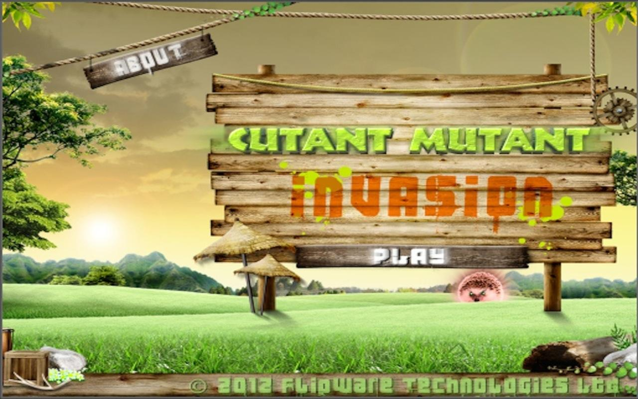 Cutant Mutant Invasion- screenshot