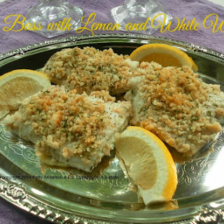 Sea Bass with Lemon and White Wine