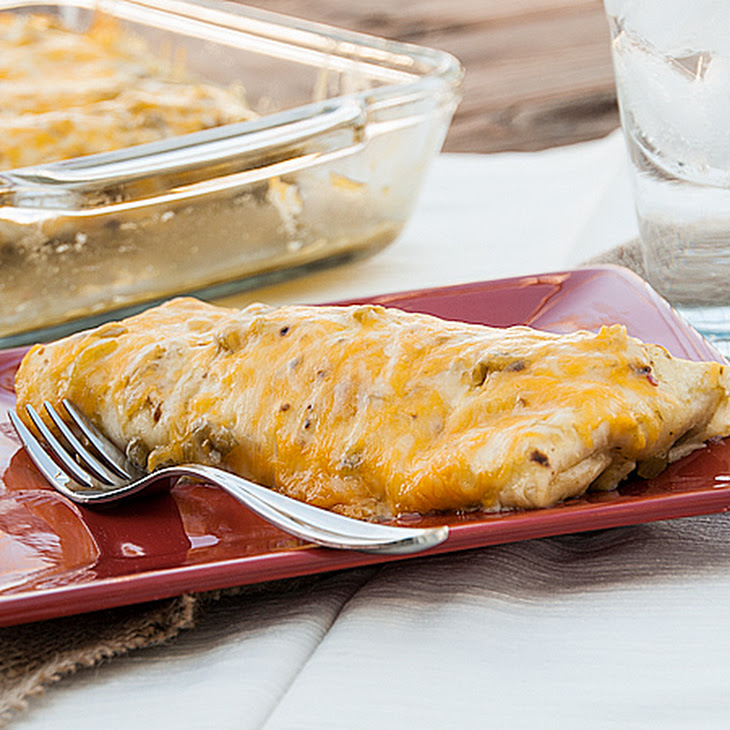Simple Smothered Beef Burritos