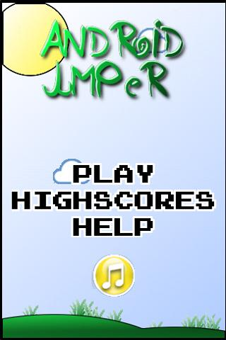 Droid jumper- screenshot