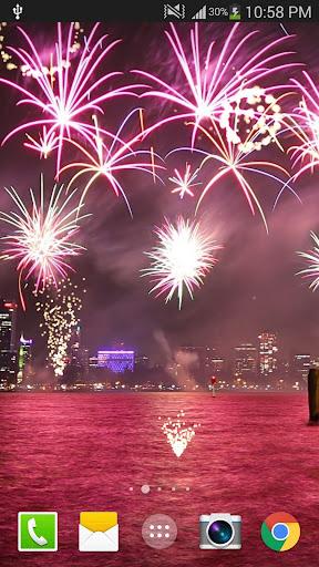 2019 Fireworks Live Wallpaper Free 1.0.5 screenshots 2