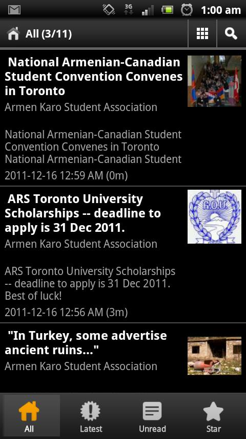 Armen Karo Student Associaton- screenshot