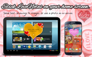 Screenshot of E-cards & LoveNotes Messenger