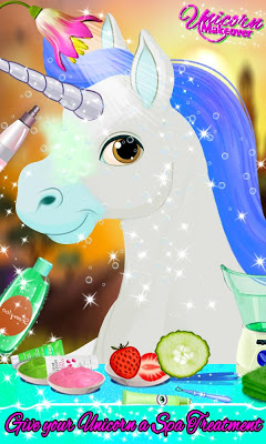 Unicorn Makeover & Dress Up - screenshot