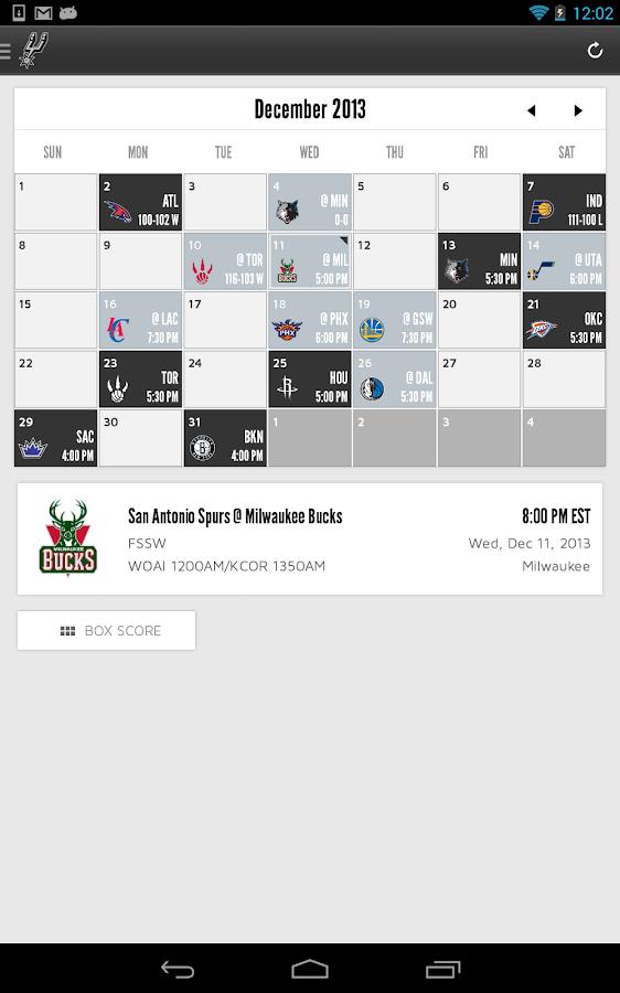 San Antonio Spurs - screenshot