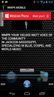 WMPR MOBILE - screenshot thumbnail