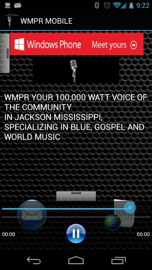 WMPR MOBILE - screenshot