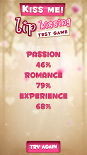 Kiss Me! Lip Kissing Test Game 3
