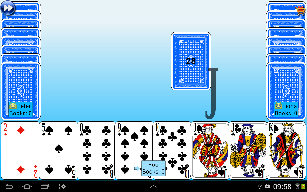 G4a: Go Fish! Screenshot