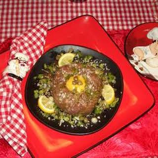 Original Steak Tartare.