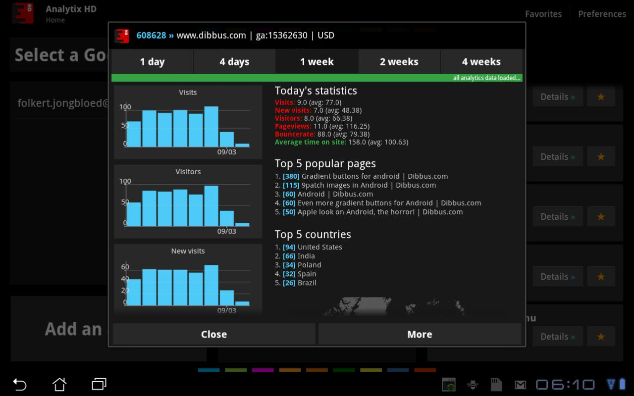 Analytix HD - screenshot