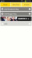 Screenshot of Easy WordPress & Blogger