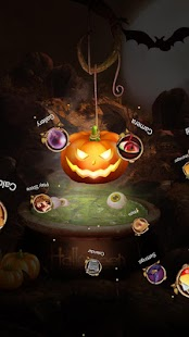 Next Halloween Pumpkin  LWP - screenshot thumbnail