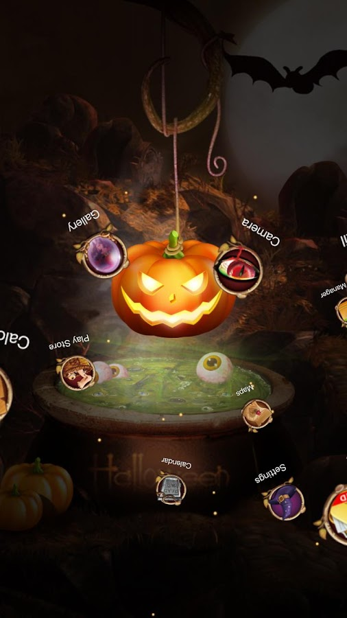 Next Halloween Pumpkin  LWP- screenshot
