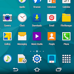 CM11 GALAXY S5 White theme v1.00