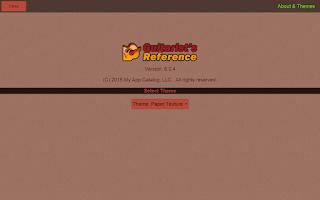 Screenshot of Guitarist's Reference Free
