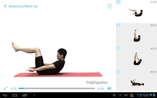 Screenshot of Daily Yoga for Abs