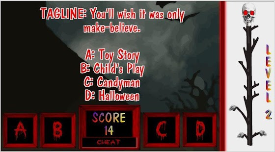 horror movie trivia screenshot thumbnail horror movie trivia screenshot thumbnail - Halloween Horror Movie Trivia